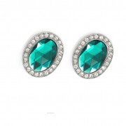 Emerald Green Magnetic Shoe Clips
