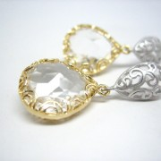 Ice Drops Lacy Earrings