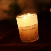 Vellum Votive Candle Wraps