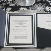 5x7 Elegant Layered Invitation