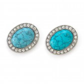 Turquoise Blue Magnetic Shoe Clips