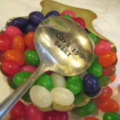 Vintage Silverware Silver Plate Ladle Candy Buffet Candy Bar