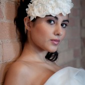 One of a kinda bridal hair piece