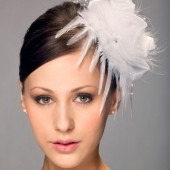 Faith-Bridal Hair Flower