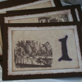 alice in wonderland table numbers