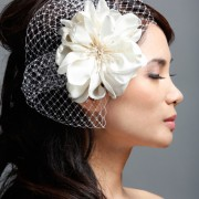 Eve- bridal flower hair clip