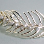 Paradise Freshwater Pearl and Sterling Silver Cuff Bracelet