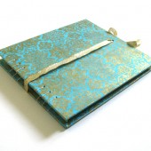 Turquoise Orient Guest Book