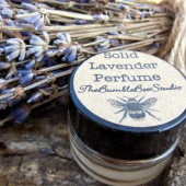 solid lavender perfume