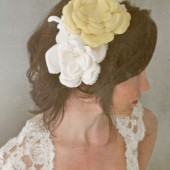Flora - handmade silk flower headband
