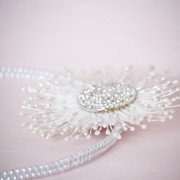 Catherine- beautiful bridal headband and flower pearls