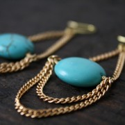 Charmaine Earrings - Turquoise