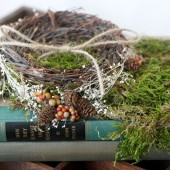 love nest ring bearer book stack