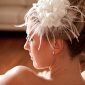 Aimee: bridal hair flower