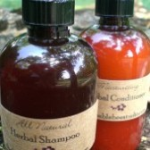 natural  shampoo & conditioner