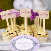 eat me cupcake topper - dessert table by SweetsIndeed