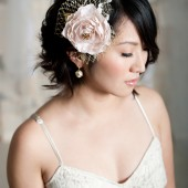 Gold Fascinator by Tessa Kim