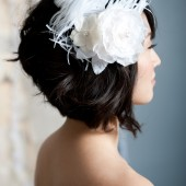 Flower fascinator by Tessa Kim