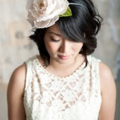 Double flower headband by Tessa Kim