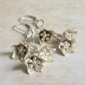 Melody Sterling and Fine Silver Earrings