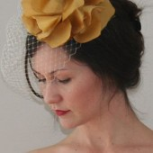 Golden Stella headpiece