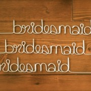 bridesmaid hangers