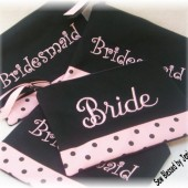 Bride, Bridesmaid Cosmetic Bags