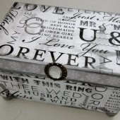 Wedding Memories - Wedding Guest Book Box Alternative