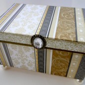 Ultimate Elegance - Wedding Guest Book Box Alternative