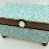 That Blue Box from Tiffany\'s - Wedding Guest Book Alternative Box