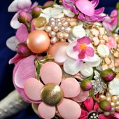 Orchid Brooch Bouquet