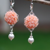 Flower Bridesmaids Earrings