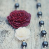 Fall Flower Bridesmaids Necklace