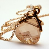 Golden Shadow Swarovski Necklace