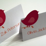 Love Birds Place Cards