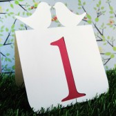 Love Bird Table Numbers