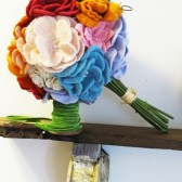 Felted Flower Bouquet