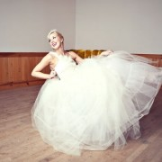 Cotton Tulle Ballgown