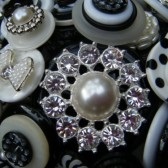 Bling Button Bouquet