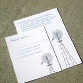 Campbell Wedding Invitation