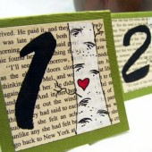 Love Birch Paintings Table Number Cards