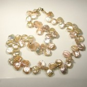 Sea Swept Pearl Necklace