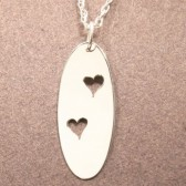 Two Hearts, Silver Charm