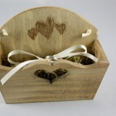 Rustic Ring Bearer Basket