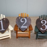 Adirondack Chair Table Numbers