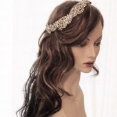 Eugienia Crystal hair fascinator