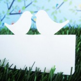 Love Bird Place Cards