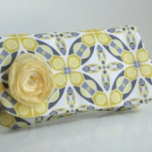 clutch gray and yellow