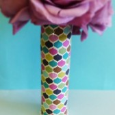 Bridesmaids Bouquet Fabric Handle - A Unique Touch For Your Flowers