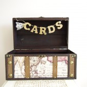 Trunk Card Box - Travel theme